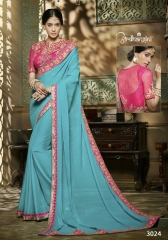 Ardhangini 3021 series party wear saree catalog WHOLESALE BEST RATE (2)