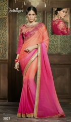 Ardhangini 3021 series party wear saree catalog WHOLESALE BEST RATE (4)