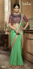 Ardhangini 3021 series party wear saree catalog WHOLESALE BEST RATE (6)
