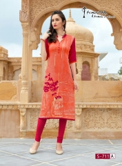 Arena fashion feminista saanj 2 Kurties Collection WHOLESALE RATE BY GOSIYA EXPORTS SURAT (11)