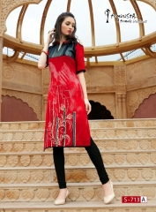 Arena fashion feminista saanj 2 Kurties Collection WHOLESALE RATE BY GOSIYA EXPORTS SURAT (14)