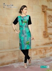 Arena fashion feminista saanj 2 Kurties Collection WHOLESALE RATE BY GOSIYA EXPORTS SURAT (4)