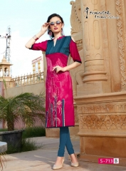 Arena fashion feminista saanj 2 Kurties Collection WHOLESALE RATE BY GOSIYA EXPORTS SURAT (7)