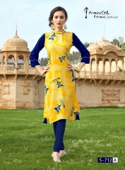 Arena fashion feminista saanj 2 Kurties Collection WHOLESALE RATE BY GOSIYA EXPORTS SURAT (8)