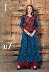 Arena fashion feminista vedic kurtis catalog WHOLESLAE BEST RATE BY GOSIYA EXPORTS (1)