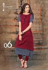 Arena fashion feminista vedic kurtis catalog WHOLESLAE BEST RATE BY GOSIYA EXPORTS (10)