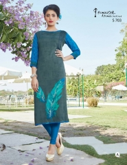 ARENA FEMINISTA SAANJ KURTI WHOLESALE RATE AT GOSIYA EXPORTS SURAT (5)