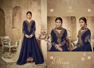 ARIHANT DESIGNER MATRIX CATALOG GEORGETTE WITH SILK SUPPLIER BEST (5)