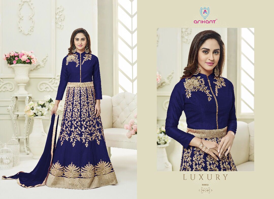078aaeff8f ARIHANT DESIGNER SASHI VOL 11 GEORGETTE DESIGNER SUITS WHOLESALE BEST RATE  BY GOSIYA EXPORTS SURAT (