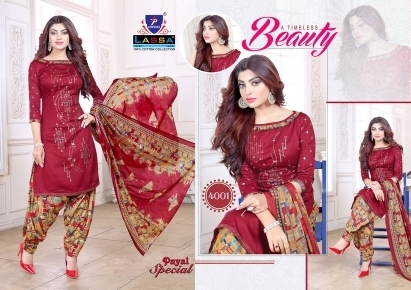 ARIHANT LASSA PAYAL SPECIAL VOL 4 COTTON FABRIC DRESS MATERIAL WHOLESALE DEALER BEST RATE BY GOSIYA EXPORTS SURAT (2)