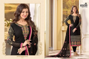 ASHSEE IMAGINE AYESHA TAKIA GEORGETTE EMBROIDERED WHOLESALE SURAT BY GOSIYA EXPORTS (3)