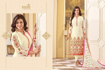 ASHSEE IMAGINE AYESHA TAKIA GEORGETTE EMBROIDERED WHOLESALE SURAT BY GOSIYA EXPORTS (5)