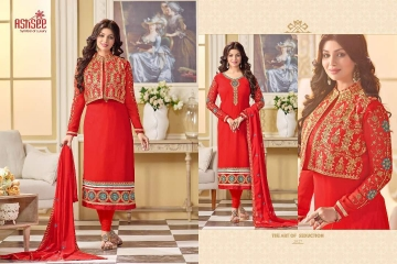 ASHSEE IMAGINE AYESHA TAKIA GEORGETTE EMBROIDERED WHOLESALE SURAT BY GOSIYA EXPORTS (7)