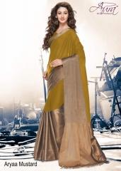 Aura aarya plus cotton silk sarees BY GOSIYA EXPORTS (10)