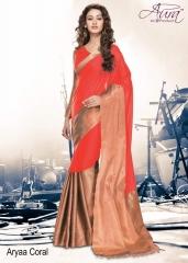 Aura aarya plus cotton silk sarees BY GOSIYA EXPORTS (11)