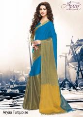Aura aarya plus cotton silk sarees BY GOSIYA EXPORTS (15)