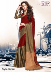 Aura aarya plus cotton silk sarees BY GOSIYA EXPORTS (16)