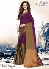 Aura aarya plus cotton silk sarees BY GOSIYA EXPORTS (17)