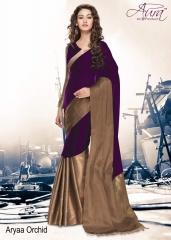 Aura aarya plus cotton silk sarees BY GOSIYA EXPORTS (6)