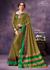 AURA MYSHA SILK SAREES BUY AT WHOLESALE SUPPLIER DEALER WHOLESALE BEST RATE BY GOSIYA EXPORTS SURAT (1)