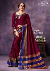AURA MYSHA SILK SAREES BUY AT WHOLESALE SUPPLIER DEALER WHOLESALE BEST RATE BY GOSIYA EXPORTS SURAT (8)