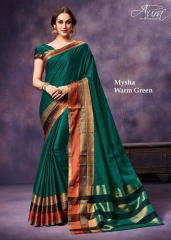 AURA MYSHA SILK SAREES BUY AT WHOLESALE SUPPLIER DEALER WHOLESALE BEST RATE BY GOSIYA EXPORTS SURAT (9)