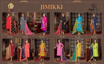 AVC JIMIKKI CATALOG BOMBAY COTTON CASUAL WEAR SALWAR KAMEEZ WHOLESALE SUPPLIER DEALER BEST RATE BY GOSIYA EXPORTS SURAT (1)