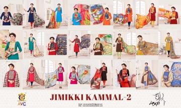 AVC JIMMIKI KAMMAL VOL 2 CATALOG BOMBAY COTTON TOP (13)