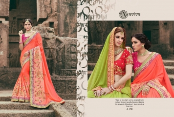 AVIVA SAREES BY KANHERI CATALOGUE DESIGNER PARTY WEAR SAREES COLLECTION WHOLESALE BEST RATE BY GOSIYA EXPORTS SURAT (25)