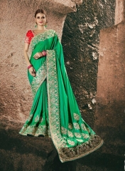 AVIVA SAREES BY KANHERI CATALOGUE DESIGNER PARTY WEAR SAREES COLLECTION WHOLESALE BEST RATE BY GOSIYA EXPORTS SURAT