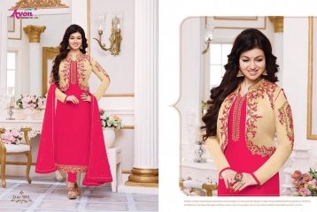 AVON TREDNZ 5000 JACKET SERIES PARTY WEAR COLLECTION WHOLESALE SUPPLIER BEST RATE BY GOSIYA EXPORTS SURAT (1)