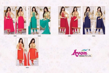 AVON TREDNZ 5000 JACKET SERIES PARTY WEAR COLLECTION WHOLESALE SUPPLIER BEST RATE BY GOSIYA EXPORTS SURAT (12)