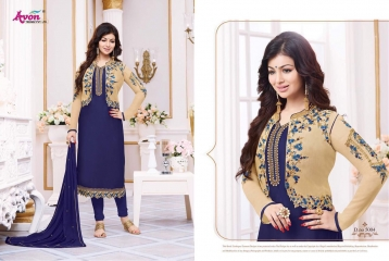AVON TREDNZ 5000 JACKET SERIES PARTY WEAR COLLECTION WHOLESALE SUPPLIER BEST RATE BY GOSIYA EXPORTS SURAT (2)