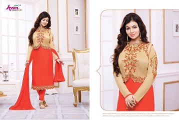 AVON TREDNZ 5000 JACKET SERIES PARTY WEAR COLLECTION WHOLESALE SUPPLIER BEST RATE BY GOSIYA EXPORTS SURAT (9)