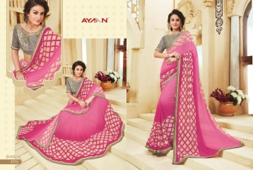 AYAN TRENDZ FUSION TADKA CATALOG FANCY DESIGNER SAREES COLLECTION WHOLESALE (2)