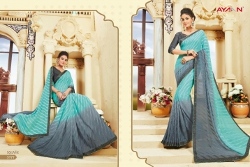 AYAN TRENDZ FUSION TADKA CATALOG FANCY DESIGNER SAREES COLLECTION WHOLESALE (7)