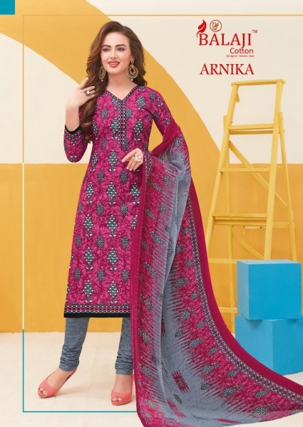 BALAJI COTTON ARNIKA VOL 8 COTTON FABRIC UNSTITCHED DRESS MATERILAS WHOLESALE DEALER BEST RATE BY GOSIYA EXPORTS SURAT (10)