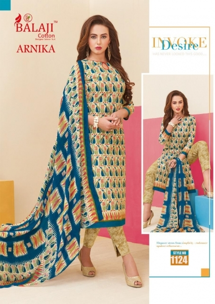 BALAJI COTTON ARNIKA VOL 8 COTTON FABRIC UNSTITCHED DRESS MATERILAS WHOLESALE DEALER BEST RATE BY GOSIYA EXPORTS SURAT (11)