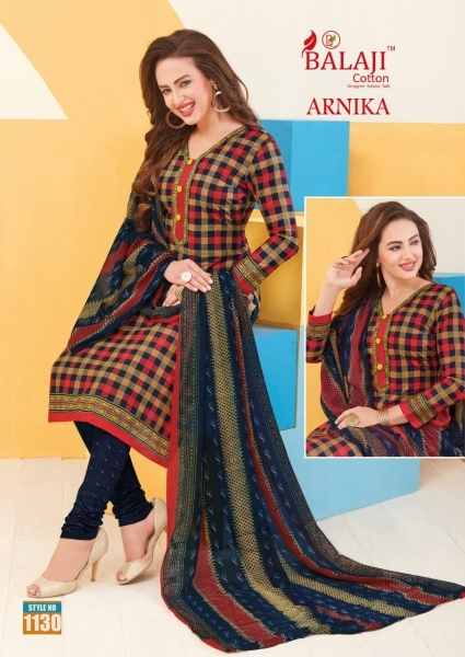 BALAJI COTTON ARNIKA VOL 8 COTTON FABRIC UNSTITCHED DRESS MATERILAS WHOLESALE DEALER BEST RATE BY GOSIYA EXPORTS SURAT (17)