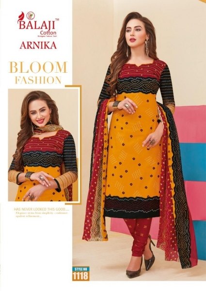 BALAJI COTTON ARNIKA VOL 8 COTTON FABRIC UNSTITCHED DRESS MATERILAS WHOLESALE DEALER BEST RATE BY GOSIYA EXPORTS SURAT (4)