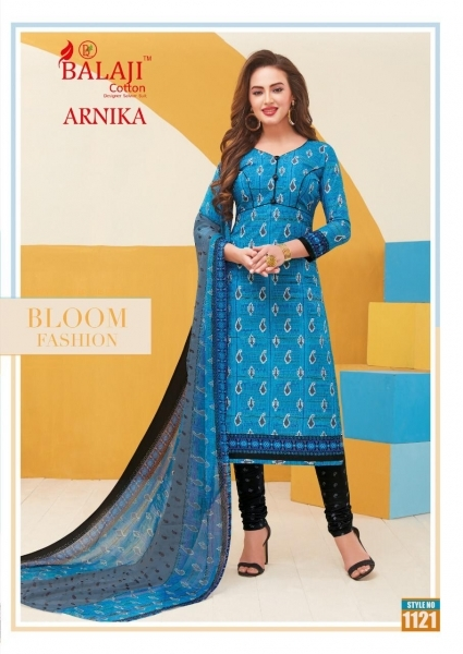 BALAJI COTTON ARNIKA VOL 8 COTTON FABRIC UNSTITCHED DRESS MATERILAS WHOLESALE DEALER BEST RATE BY GOSIYA EXPORTS SURAT (8)