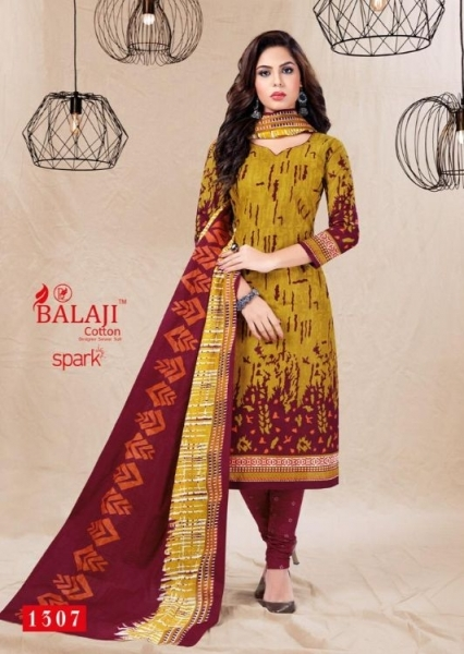 BALAJI COTTON PRESENTS SPARK VOL 13 COTTON FABRIC DRESS MATERIAL WHOLESALE BEST RATE BY GOSIYA EXPORTS SURAT (11)