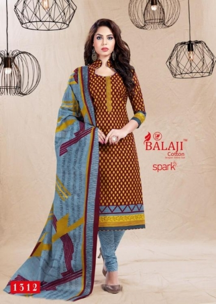 BALAJI COTTON PRESENTS SPARK VOL 13 COTTON FABRIC DRESS MATERIAL WHOLESALE BEST RATE BY GOSIYA EXPORTS SURAT (17)