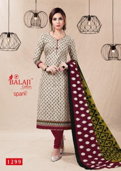 BALAJI COTTON PRESENTS SPARK VOL 13 COTTON FABRIC DRESS MATERIAL WHOLESALE BEST RATE BY GOSIYA EXPORTS SURAT (4)