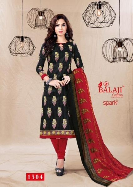 BALAJI COTTON PRESENTS SPARK VOL 13 COTTON FABRIC DRESS MATERIAL WHOLESALE BEST RATE BY GOSIYA EXPORTS SURAT (9)