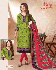 BALAJI SPARKLE VOL 7 COTTON DRESS MATERIAL WHOLESALE (10)