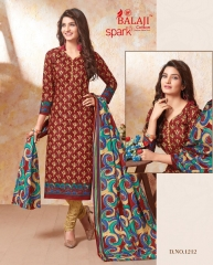 BALAJI SPARKLE VOL 7 COTTON DRESS MATERIAL WHOLESALE (13)