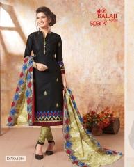 BALAJI SPARKLE VOL 7 COTTON DRESS MATERIAL WHOLESALE (2)