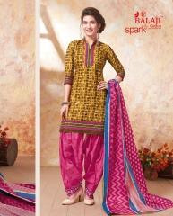 BALAJI SPARKLE VOL 7 COTTON DRESS MATERIAL WHOLESALE (9)