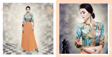 BANSI BLUSH 14 READYMADE GEORGETTE GOWNS CATALOG WHOLESALE BY GOSIYA EXPORTS (5)